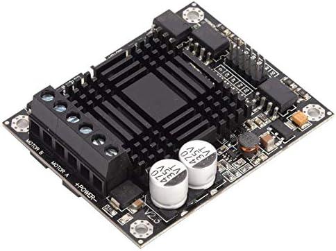 DCモータードライバーモジュールダブルチャネルHブリッジ60Aモータードライバーコントローラーモジュールロボット競技用