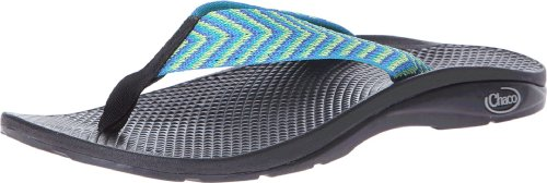 Chaco Kvinna Flip Ecotread Sandal Fiesta Blå