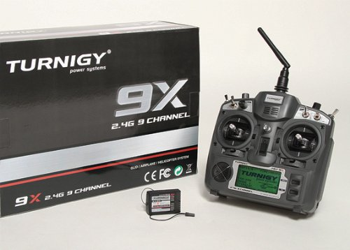 Turnigy 9X 9Ch Transmitter w/ Module & 8ch Receiver (Mode 1) (v2 (Transmitter Module)