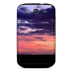 BXodL1054 AngelaMs Awesome Case Cover Compatible With Galaxy S3 - Great Belt Sunset