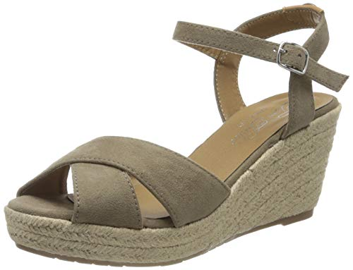 TOM TAILOR Damen 8090105 Riemchensandalen