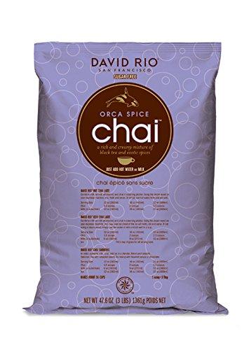 (David Rio Orca Spice Sugar Free Chai, 3 Pound )