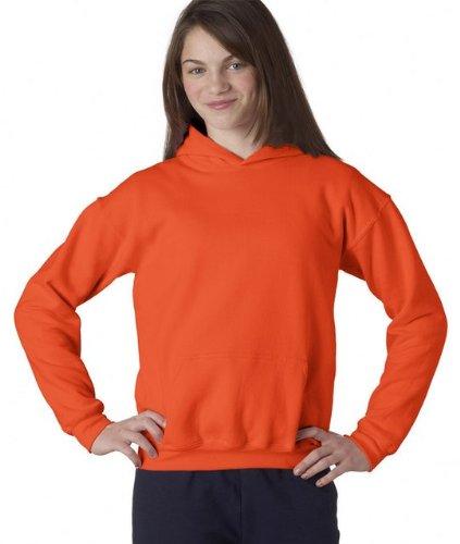 Orange Toddler Sweatshirt - Heavy Blend Youth Hooded Sweatshirt, Color: Orange, Size: Small