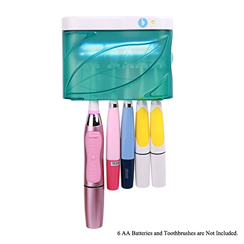 Family UV Toothbrush Holder Wall Mounted UV Sanitizer UV Ele