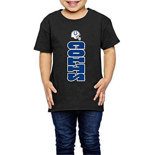 - AK79 Children 2-6 Years Old Boys And Girls T Shirt Indianapolis Logo Colts Black Size 5-6 Toddler