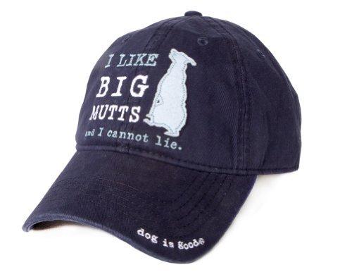 - Dog is Good Unisex I Like Big Mutts Hat One Size Navy