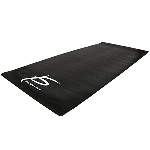 "Protection Floor Mat (ProSource Treadmill & Exercise Equipment Mats, Regular (6.5'L x 3'W x 5/32""T) Designs, High Density PVC Floor Protector)"