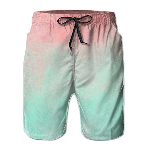 WIEYe Fantasy Sky Mens Summer Quick Dry Surfing Beach Shorts Swim Trunks Pants No Mesh Lining