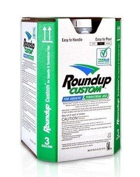 - Roundup Custom 53.8% Glyphosate for Aquatic & Terrestrial Use 2.5 gallons