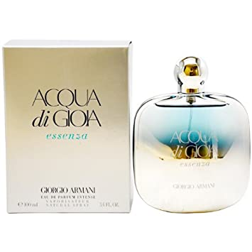 Giorgio Armani Acqua Di Gioia Essenza Eau De Parfum Intense Spray for Women, 3.4 Ounce