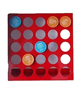 Dispensador de Cápsulas,Portacápsulas adecuado para Dolce Gusto Sistema en ROJO para 25 cápsulas de
