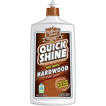 quick shine high traffic hardwood floor luster and polish 27 fl oz