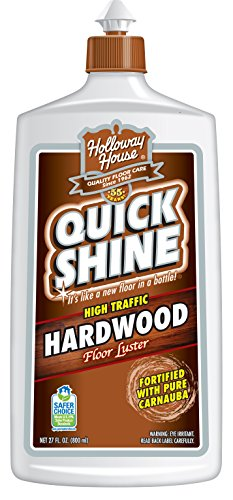 - Quick Shine High Traffic Hardwood Floor Luster and Polish, 27 Fl. Oz.