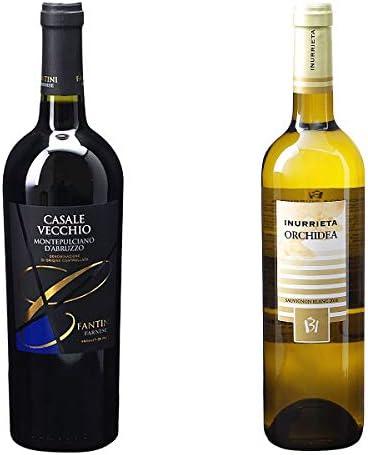 [ 2本 まとめ買い ワイン 飲み比べ ] 2017年 カサーレ ヴェッキオ モンテプルチャーノ ダブルッツォ (ファルネーゼ) 750ml と 2018年 オルキデア (ボデガ イヌリエータ) 750ml ワインセット