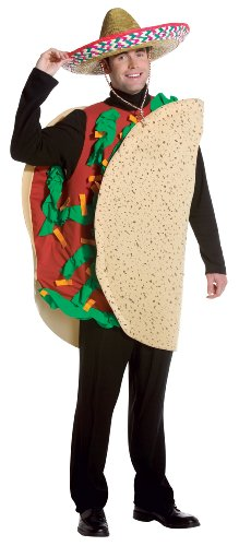 [Rasta Imposta Taco, Tan, Standard] (Food Halloween Costumes For Adults)