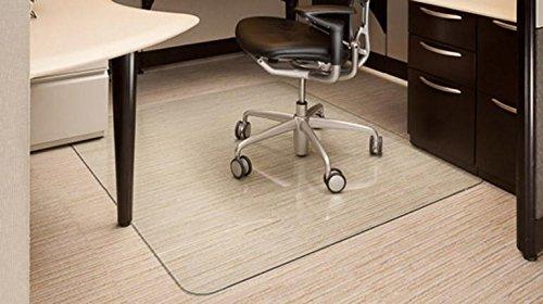 Vitrazza Glass Office Chair Mat 42
