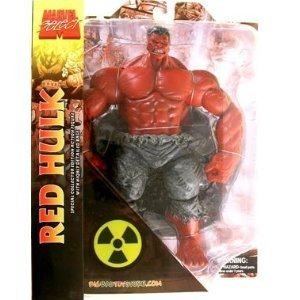 Marvel Select: Online Exclusive 'Red' Hulk Action Figures