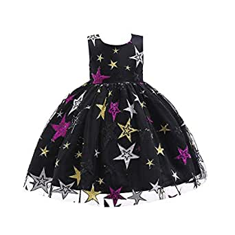 Amazon.com: AIKSSOO Girls Dress Kids Sleeveless Tulle