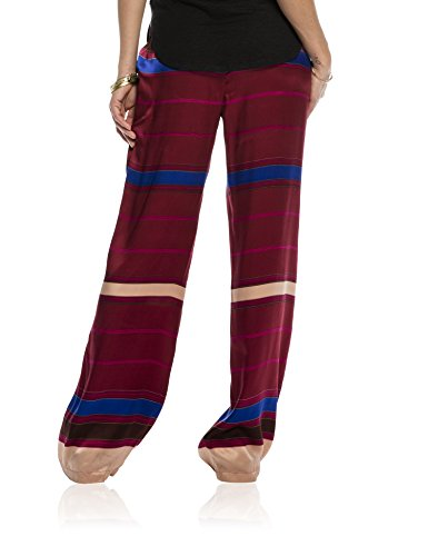 Scotch & Soda Maison 16210183701 - Pantalones Mujer Burdeos