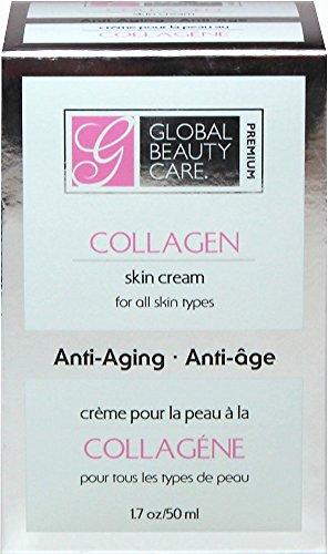 Crème de beauté globale soin Premium collagène peau crème-1. 7 oz