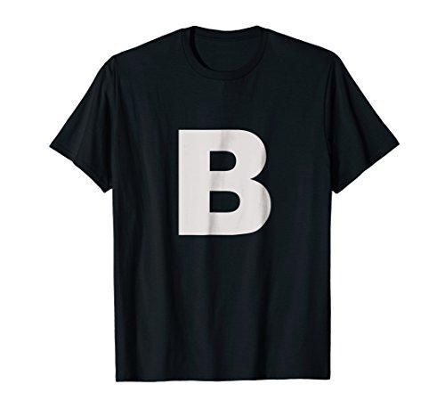Letter B T Shirt For Lettering Funny Spelling