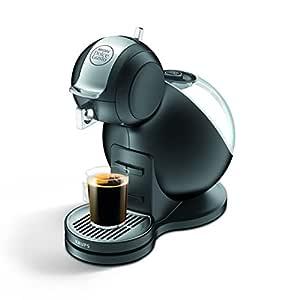 Krups Melody 3 - Cafetera, 15 bares, recipiente de 1.5 litros, con bandeja, 1500 W, color negro