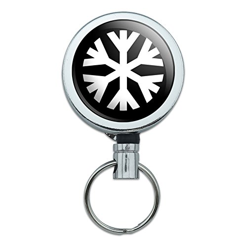 Metal Retractable Badge Holder Symbols