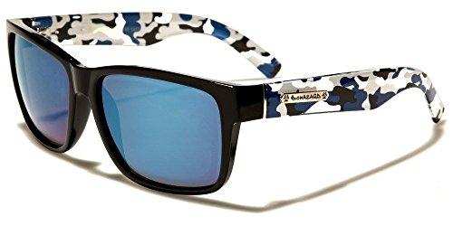 Blue Camo Arms Biohazard Camouflage Arms Vintage Men'S Designer - Sunglasses Independent Italian