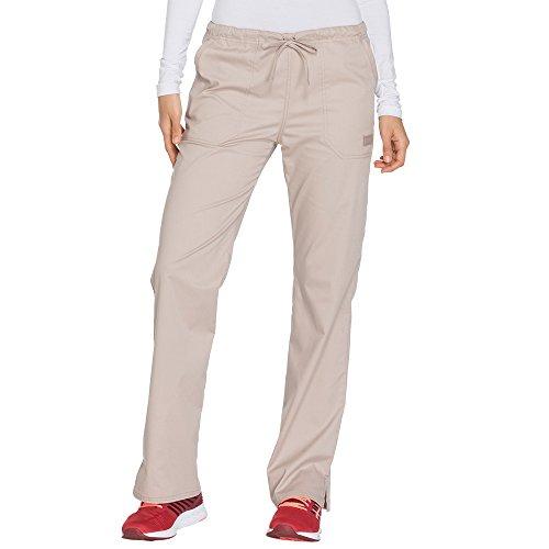 Cherokee Khakis Workwear Scrubs (Cherokee Workwear Core Stretch Women's Drawstring Cargo Scrub Pant Medium Khaki)