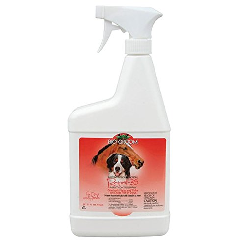 Bio-Groom Repel-35 Insect Control Pet Spray, 32-Ounce by Bio-groom