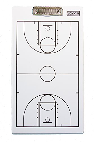 Murray Sporting Goods Dry-Erase Double Sided Basketball Coaches ()