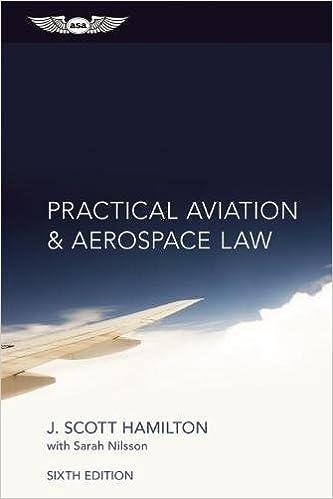 practical aviation aerospace law paul hamilton sarah nilsson