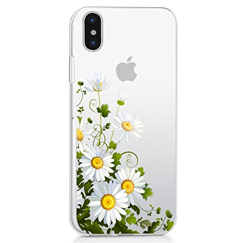 iPhone X Case TPU Silicone Rubber Cute Anti-Scratch Slim Ultra Protective Clear Shock-Absorption Bumper Soft Amusing Design for Apple IPhone10 5.8 Zoll Cover (3, iPhone X)
