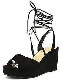 Womens Cindy Open Toe Casual Platform Sandals