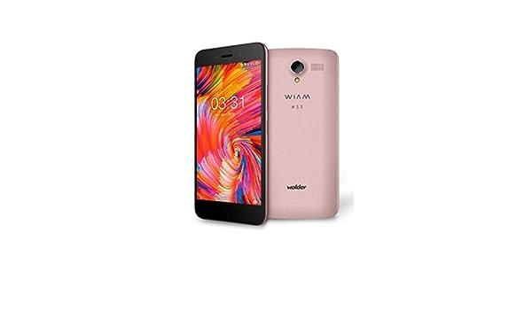 Wolder Smartphone WIAM #33 Pink - 5.5/13.9CM HD IPS: Amazon.es ...