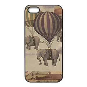 Masq Unique Custom TPU Rubber iPhone 5/5S Case Cover - Elephant