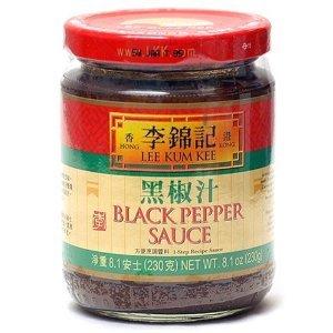 (Lee Kum Kee Black Pepper Sauce, 8.1-ounce Jars (Pack of 4))