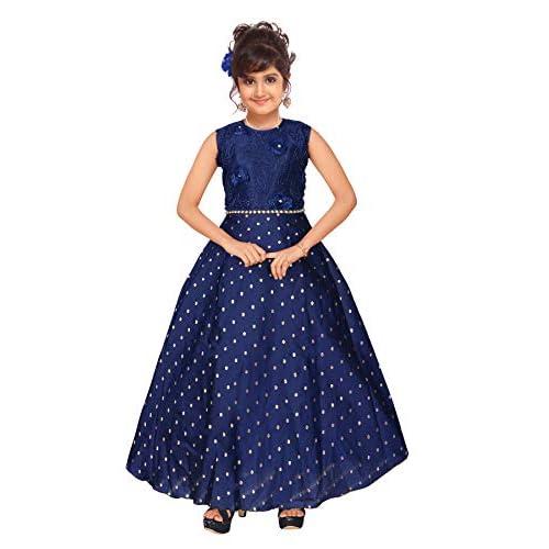 41BkEProJQL. SS500  - 4 YOU Fancy Girl Long Frock (Blue)