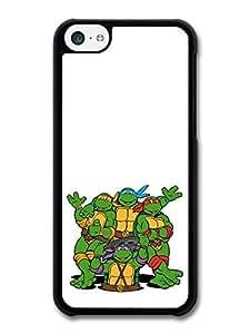 AMAF ? Accessories Ninja Turtles Cartoon Illustration Waving Hands case for iphone 6 plus
