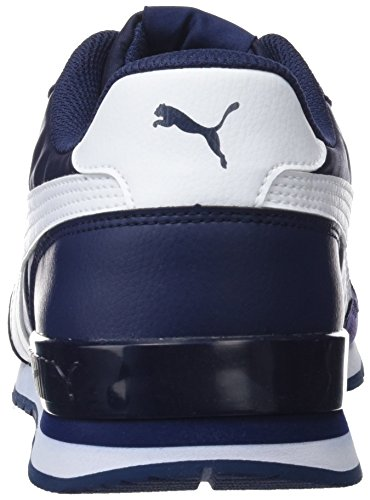 Bleu St Runner Chaussures peacoat Adulte Mixte De puma Cross White 8 V2 Nl Puma Uz5dqz