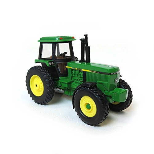 John Deere Tractor Toy with Cab 1/64 Scale