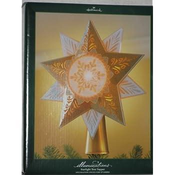 Amazon Com Hallmark Illuminations Starlight Tree Topper