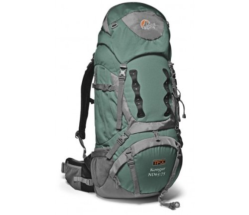 Lowe Alpine TFX Kongur ND 55:65 Backpack for Women – Crocodile Green, Outdoor Stuffs