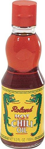 Roland Hot Chili Oil 6.2 Oz (48 Pack)