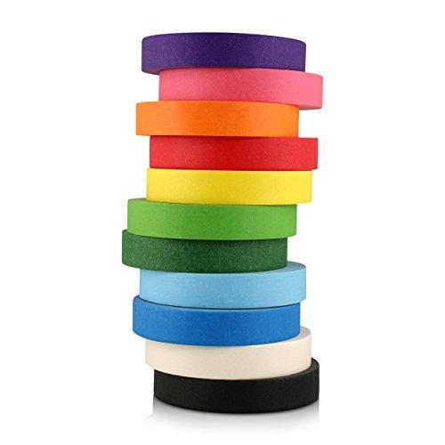18 Colored Vinyl Labels - 1