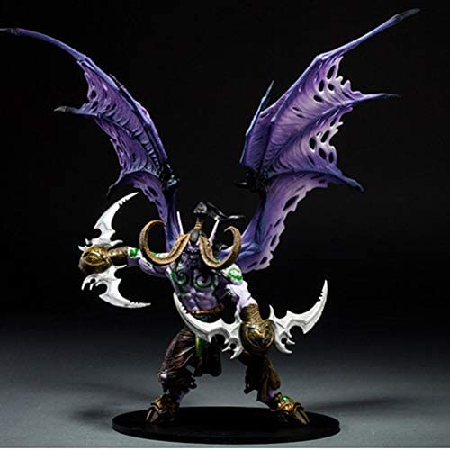 World Of Warcraft Demon Hunter Illidan Stormrage Statue Action Figure