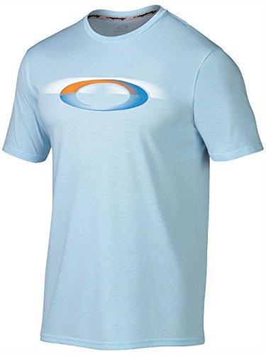 Oakley BLUR ELLIPSE TEE Mist Blue - Oakleys Online