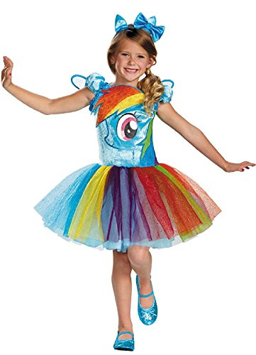 Disguise My Little Pony Rainbow Dash Costume Deluxe (XS 3+)