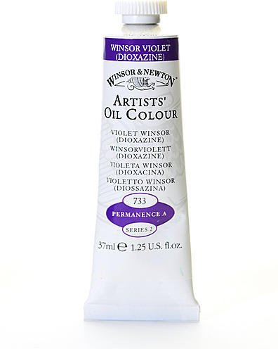 Winsor & Newton Artists' Oil Colours (Winsor Violet Dioxazine) 1 pcs sku# 1875078MA ()