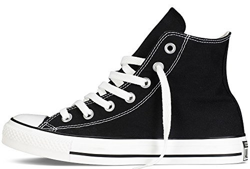 Converse Chuck Taylor All Star Classic High Top Sneakers - Black US Men 7/US Women 9 by Converse (Image #2)